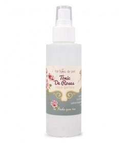 Tónico natural de agua de rosas
