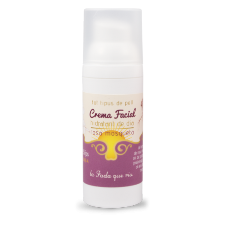 crema facial de rosa mosqueta SPF 15