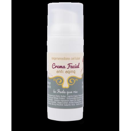 Crema hidratante facial anti-aging
